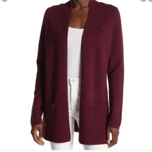 Devotion by Cyrus Ottoman open Ribbed Cardigan NWT
